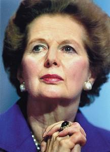 Margaret Thatcher, la dame de fer