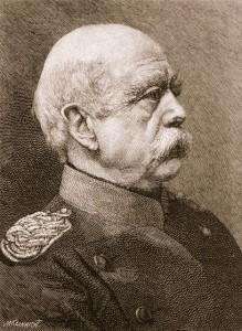 Le Chancelier Otto Von Bismarck, artisan de réformes sociales dans l'Allemagne des années 1880