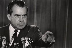 """Richard Nixon, Président des Etats-Unis, clame son innocence lors de son discours """"I'm not a crook"""""""