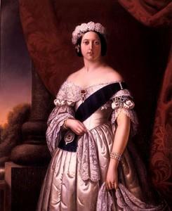 Tableau de la Reine Victoria