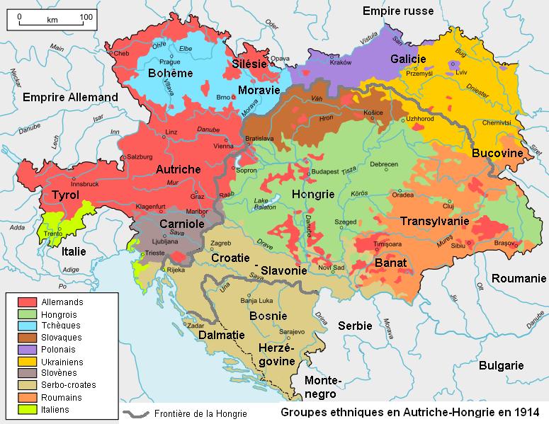 hongrie sur la carte du monde