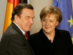 G. Schröder et A. Merkel, à l'origine des réformes allemandes