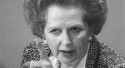 """Margareth Thatcher """"La dame de Fer"""" avit la bouche de Marilyn et les yeux de Staline selon Mitterrand"""