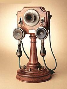 Un exemplaire du téléphone de Mildé