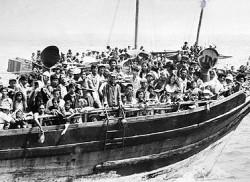 Les boat people vietnamins