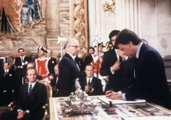 12 juin 1985 : signature de l'adhésion de l'Espagne à la Communauté Européenne