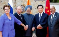 Les chefs d'Etat des pays du BRICS