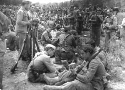 Image de la Bataille de l'Ebre (1938), la plus meurtrière du conflit