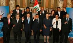 Réunion des chefs d'Etat de l'UNASUR concernant la situation au Venezuela en avril 2013
