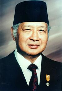 Soeharto, Président indonésien de 1975 à 1997