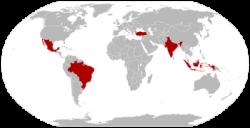 Carte des TIMBIs