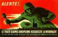 L'échec politique de la CED, en 1954, a eu des conséquences majeures sur la géopolitique européenne.