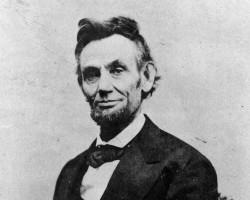 Daguerréotype d'Abraham Lincoln, le 16ème président des États-Unis.