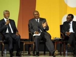 En 2010, un sommet sur le lancement d'une nouvelle révolution verte en Afrique a eu lieu à Accra: présidée par Kofi Annan, elle remet d'actualité cette politique agricole lancée dans les années 1960