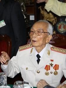 Le Général Giap en 2008