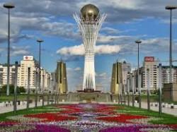 Astana, au Kazakhstan. Si ce pays est de loin le leader économique de la région, les inégalités y restent très fortes.