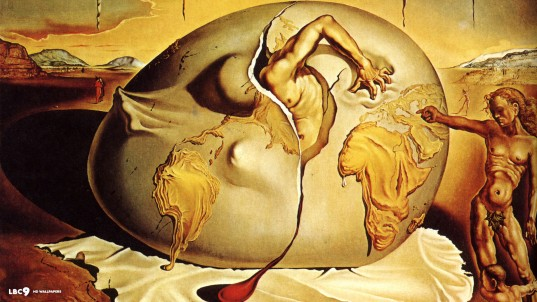 Geopoliticus, Salvador Dalí (1943)