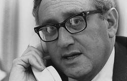Henry Kissinger, artisan du rapprochement entre les Etats-Unis et la Chine en 1972: une manoeuvre quasi archétypale de Realpolitik.