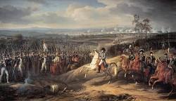 Napoléon à la bataille d'Iéna en 1806. L'empereur des français savait comme personne allier vision stratégique globale et sens tactique du commandement.