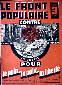 Brochure du Front populaire datant de 1936