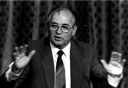 Mikhaïl Gorbatchev, instigateur des réformes économiques des années 1980 en URSS