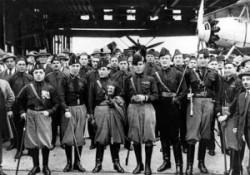 Les squadristi, organisation paramilitaire fasciste
