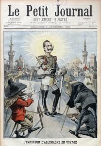 """La Weltpolitik : l'Allemagne souhaitant se faire une """"place au soleil"""" et l'empereur Guillaume II qui compte bien profiter."""