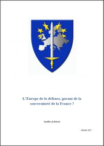 europe défense geoffroi reboul