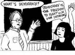 Autocratie-démocratie : vers une future troisième voie ?