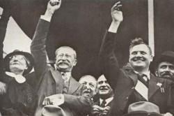 Léon Blum après la signature de Accords de Matignon le 7 juin 1936.