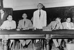Première conférence de l'OPEP à Bagdad quelques mois après sa création, en 1960