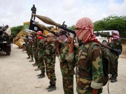 Des combattants Shebab, ici à Mogadiscio en 2010