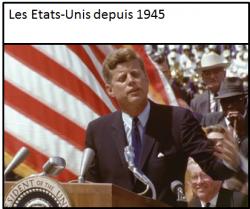 etats unis depuis 1945