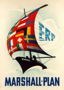 Le Plan Marshall a sans conteste accéléré la reconstruction économique européenne et encouragé sa constitution politique via l'OECE
