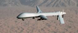 Un drone prédator en vol