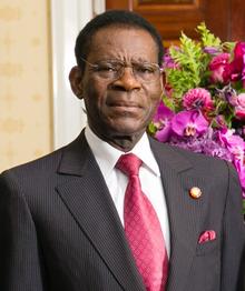 Le président, Teodoro Obiang, un dictateur qui dirige d'une main de fer son pays et accumule la rente pétrolière