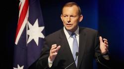 Tony Abbott, le Premier Ministre australien en poste depuis 2013.