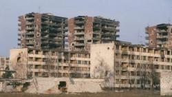 Vukovar en 1992 (actuelle Croatie)