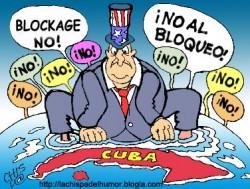 L'anachronisme du blocus de Cuba : le 28 octobre 2014, l'assemblée générale de l'ONU a voté une motion soutenant la levée de l'embargo de Cuba. Seuls les Etats-Unis et Israël s'y sont opposés.