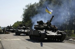 Troupes ukrainiennes en mouvement source: liberation.fr
