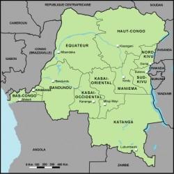 La RDC, un pays africain immense et riche en matières premières, au coeur de la région des Grands Lacs