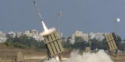 """Le système de protection israélien, le 'Dome de fer"""" lors du conflit de juillet 2014"""