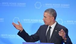 Le Président Obama lors du Sommet Mondial contre le terrorisme