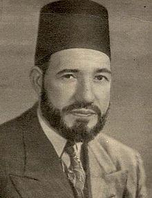Hassan al-Banna, fondateur de la confrérie des Frères musulmans