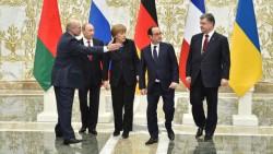 Une réunion tendue s'est déroulée à Minsk en Biélorussie, pour parvenir à un plan de paix.