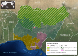 Les religions au Nigéria Source: www.vuessurlemonde.com