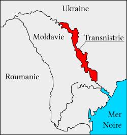 La Transnistrie, un positionnement géographique stratégique