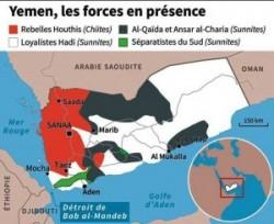 Le conflit continue chaque jour de segmenter un peu plus le Yemen.