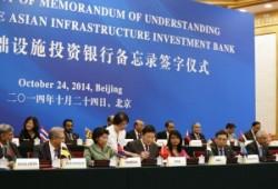La banque asiatique d'investissement pour les infrastructures, un coup e maître de la diplomatie chinoise