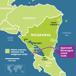 Le canal géant du Nicaragua, plus long que le canal de Panama et que le canal de Suez